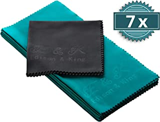 Microfiber Cleaning Cloth - Multipack extremely soft glasses cleaning cloths - 8 x 8 inches