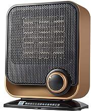 Acyon Calefactor Cerámico PTC 750W/1500W Mini Ventilador de Calentacdor Eléctrico contra Sobrecalentamiento y Protección contra Volcado Viento Natural o Caliente para Oficinas y Hogar,Marrón