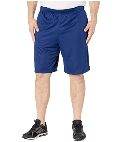 Nike Big Tall Dry Training Shorts (Blue Void/Black) Men