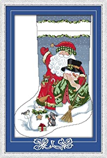 Best stamped cross stitch stockings Reviews