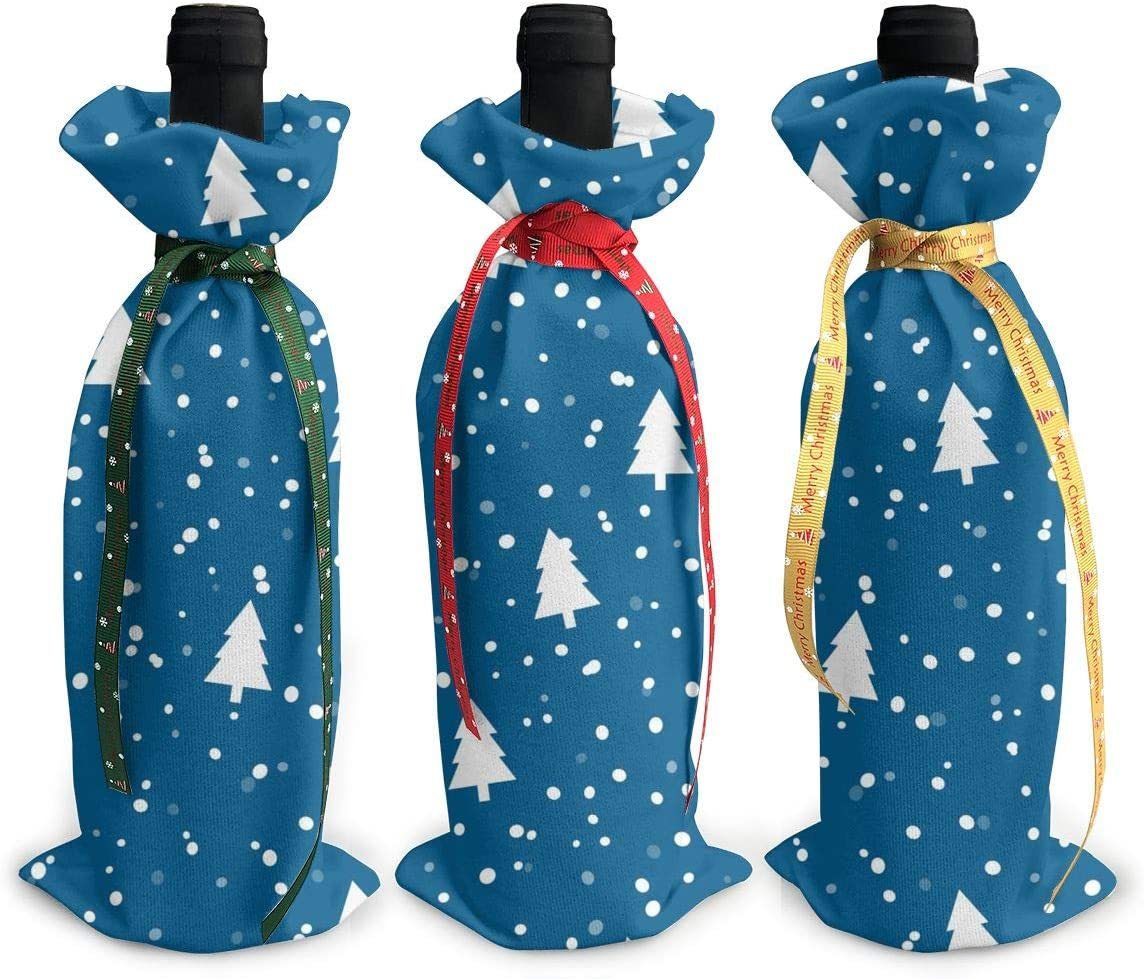 Christmas Tree Art Lowest price New Free Shipping challenge Blue Snow Xmas Cute3Pcs Red Wine Gl