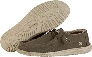 Dude Shoes Men  S Wally Esercito Naturale