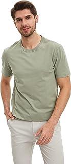 DeFacto Basic Düz Kısa Kollu T-shirt Tişört Erkek