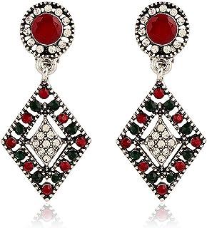 Fashion Boho trois Cire ligne Ball Drop Dangle oreille Crochet Boucle d/'oreille à Clous Pour Femmes Bijoux