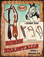 leather headstall patterns