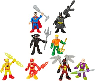 Fisher-Price Imaginext DC Super Friends Super-Hero Showdown Figure Set [Amazon Exclusive]