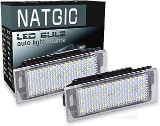 2x Auto LED Kennzeichenleuchten Lampe für Renault Megane 2 Clio Laguna 2 Megane3