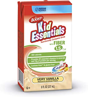 Nestle Clinical Nutrition Boost Kid Essentials 1.5 Nutritional Supplement with Fiber, Ncl335000H, 1 Pack,  8fl oz (237ml)
