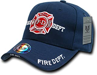 Rapid Dominance Deluxe Embroidered Law Enforcement Caps - Fire Department