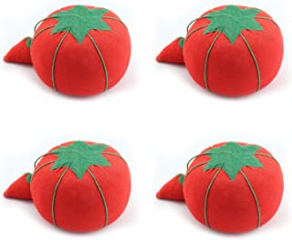 Perzodo 4 Pieces Tomato Pin Cushions for Sewing