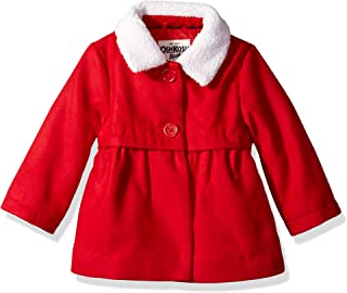 OshKosh B'Gosh Baby Girls Sweet Faux Wool Jacket Dress Coat