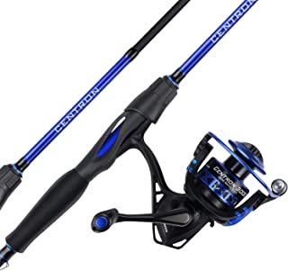 KastKing Centron Spinning Reel - Fishing Rod Combos, Toray IM6 Graphite 2Pc Blanks, Stainless Steel Guides