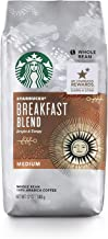 Starbucks Breakfast Blend Coffee, Whole Bean, 12 Ounce (Pack of 6)