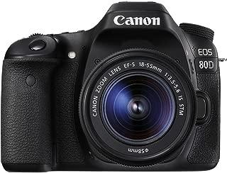 Canon EOS 80D w/ EF-S 18-55mm IS STM Lens Digital SLR Camera