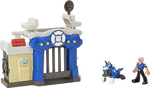 ordene ahora los precios más bajos Transformadores Playskool Heroes Rescue Rescue Rescue Bots Griffin Roca Estación de Policía Playset  venta directa de fábrica