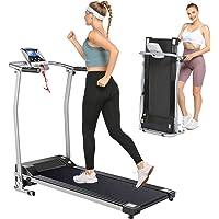 Aceshin Folding Electric Treadmills with LCD Monitor