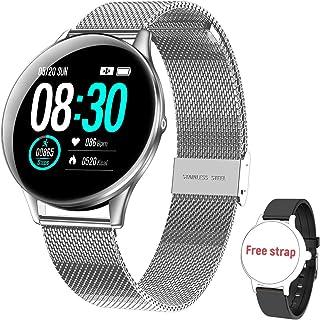 comprar comparacion Reloj Inteligente para Mujer y Hombre HopoFit, Smartwatch de Android iOS Phone con monitoreo de frecuencia cardíaca/sueño,...