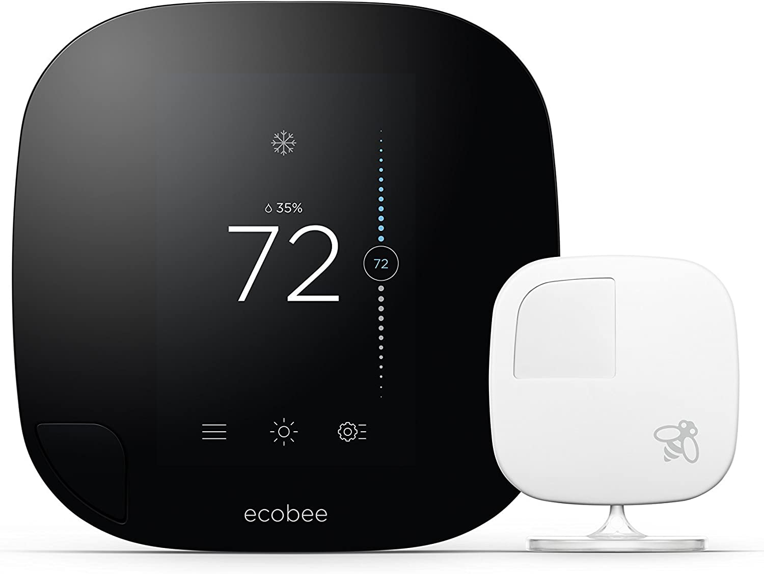 ecobee3 Smarter Wi-Fi Thermostat with Generat Sensor 2nd Spring new work Remote Special price for a limited time