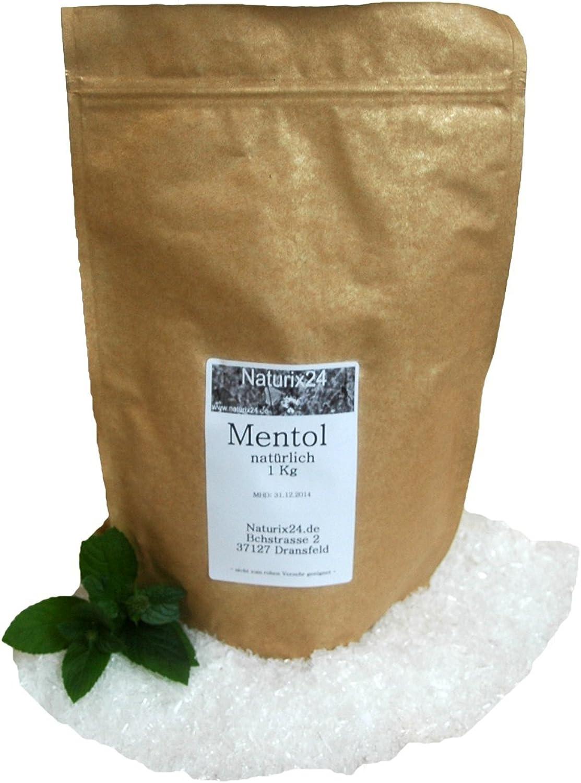 Naturix24 - Mentol, Menthol Kristalle - 1 Kg