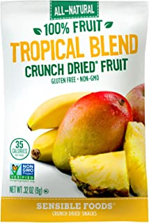 Sensible Foods Fruit Snacks, Tropical Blend, (Pack of 48)