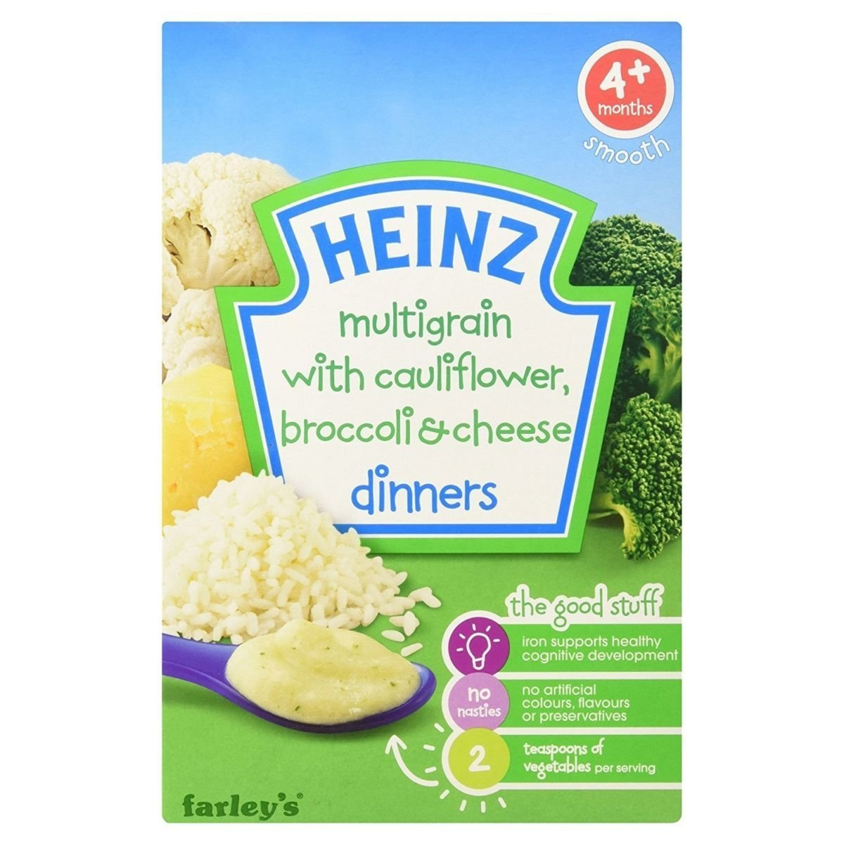 Trust Limited time for free shipping Heinz Dinners Cauliflower Broccoli Cheese 125g 4mth+