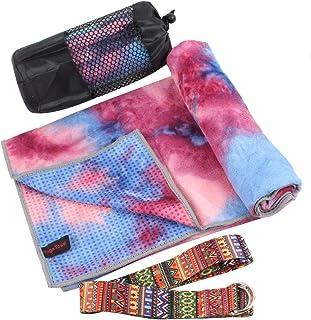 """HAPEE Yoga Towels Mat for Hot Yoga Non Slip 72"""" x 24"""""""