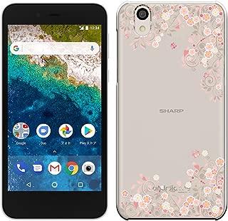 [Breeze-正規品] iPhone ・ スマホケース ポリカーボネイト [透明-Pink]Ymobile android one S3 アンドロイドワン S3ケース android one S3カバー android one S3ケース カバー 液晶保護フィルム付 全機種対応 [ONES3] [ONES31810BA]