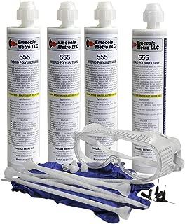 DIY Basement Floor & Slab Crack Repair Kit (Repairs Approximately 80 to 200 ft) - Repair Concrete Cracks in Driveways, Patios, Sidewalks and Basements