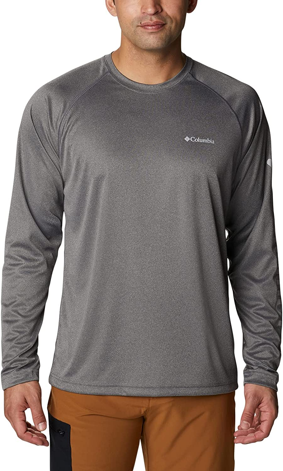 Columbia Limited time for free shipping Men's Popular standard Fork Stream Long Shirt Sleeve Heather