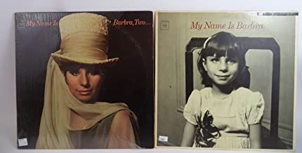 Barbra Streisand Lot of 2 Vinyl Record Albums My Name is Barbra and more
