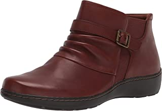 Clarks Women's Cora Rouched Ankle Boot