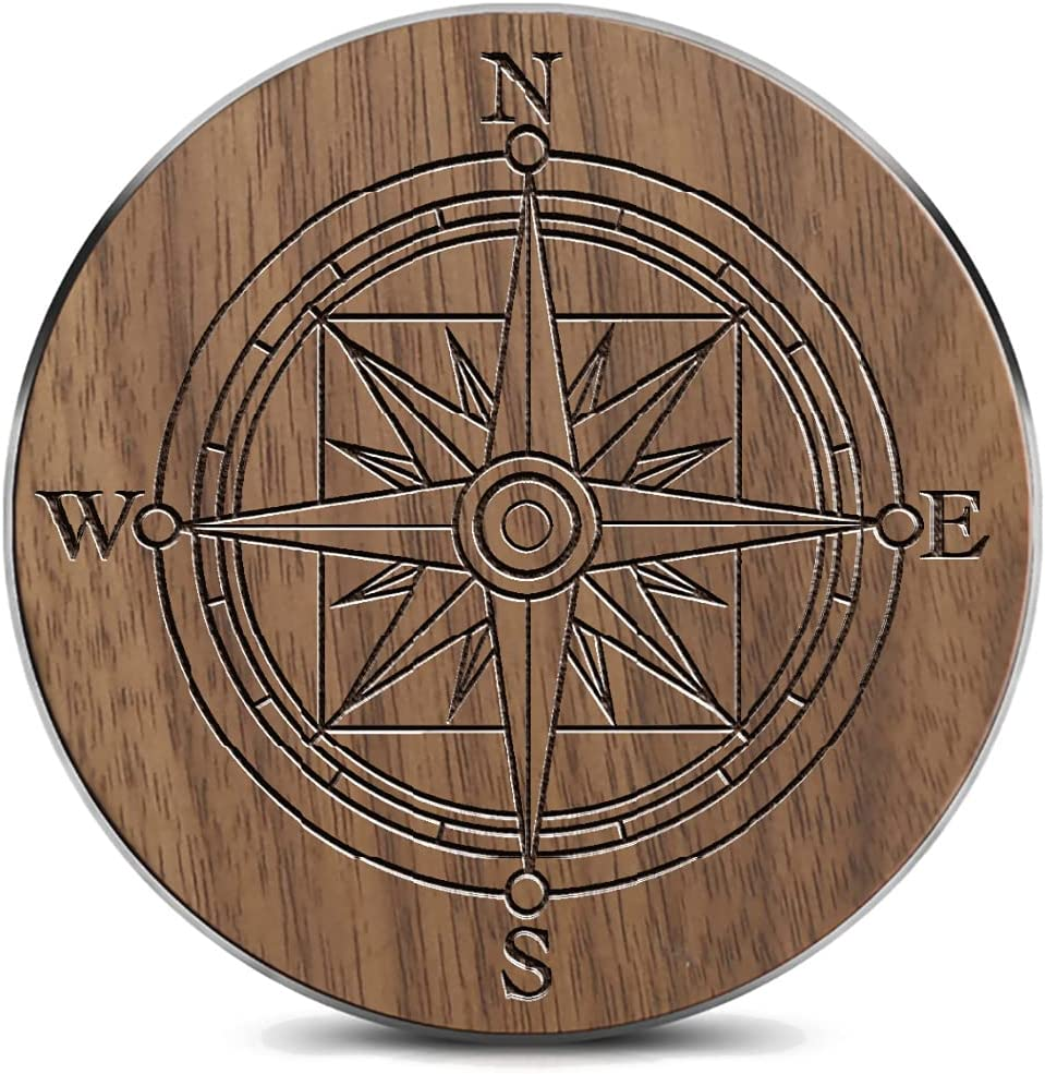 15w Wooden Soldering Popular popular Round Fast Wireless Laser Carve Charger Suitable for