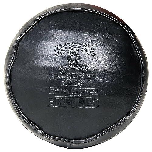 R.J.VON Headlight Cover Black for - Royal Enfield Classic 350/500 CC/Classic Chrome,Electra 350/500,Standard 350/500 CC
