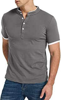 Sponsored Ad - KUYIGO Men's Polo Shirst Short Sleeve Casual Slim Fit Fashion Summer Top
