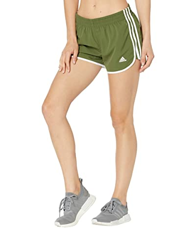 adidas M20 Shorts (Wild Pine/White) Women
