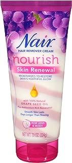 Nair Hair Remover Nourish Skin Renewal Hair Remover Cream, 7.9 oz