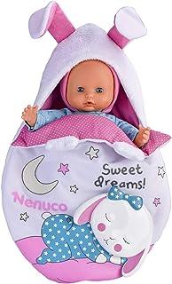 Nenuco de Famosa Saquito Mágico, muñeca bebé con Luces y