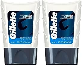Gillette Series Sensitive Skin After Shave Lotion - 2.54 oz - 2 pk