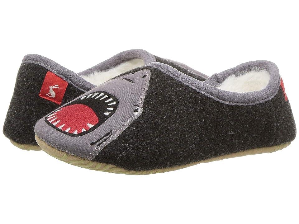 Joules Kids Slip-On Mule w/ Applique Design (Toddler/Little Kid/Big Kid) (Grey Shark) Boys Shoes