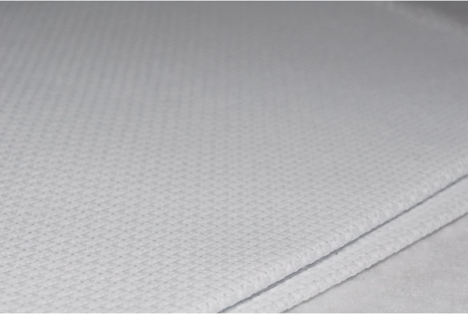Cheap mail order specialty store 14 Count Aida Cloth - White 5 Yard Bolt Memphis Mall 60