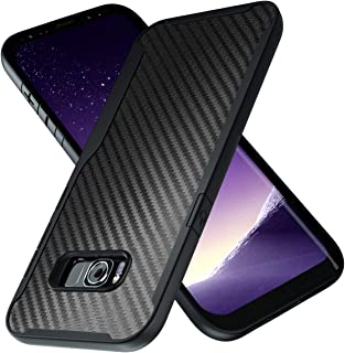 Samsung Galaxy S8 Plus Case | 10ft. Drop Tested | Carbon Case | Ultra Slim | Lightweight | Scratch Resistant | Wireless Charging | Compatible with Samsung Galaxy S8 Plus - Black
