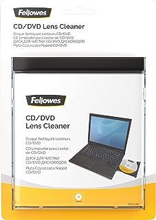 Fellowes Disque nettoyant pour la lentille de CD/DVD, nettoyage rapide, 99761