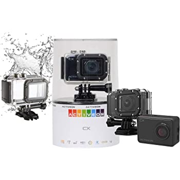 Amazon Com Activeon Cx Full Hd 1080p Wifi Waterproof Camera With Waterproof Case Retail Packing Camera Photo