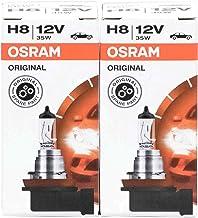 Osram 64212 Original Line H8 12V autolampen OEM kwaliteit halogeenkoplampen met fitting (2 stuks) verlichting