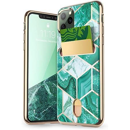 i-Blason Cosmo Wallet Slim Designer Wallet Case for Apple iPhone 11 Pro (2019), 5.8 Inch (Green)
