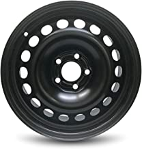 Road Ready Car Wheel For 2005-2011 Chevrolet HHR 2004-2008 Chevrolet Malibu 16 Inch 5 Lug Black Steel Rim Fits R16 Tire - Exact OEM Replacement - Full-Size Spare