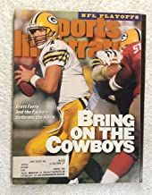 Brett Favre - Green Bay Packers - First Cover Appearance - Sports Illustrated - January 15, 1996 - NFL Playoffs - SI