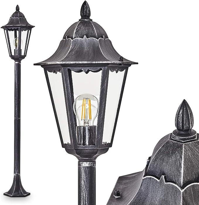 159 opinioni per Lampada per esterno Lignac, in alluminio pressofuso nero/argento con vetri