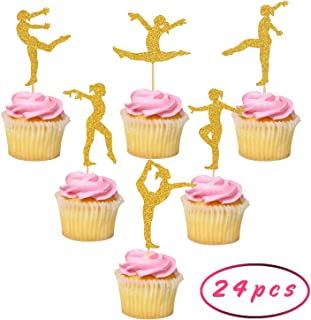 Best gymnastics edible cupcake toppers Reviews