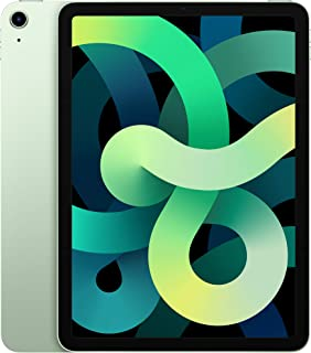 "Apple iPad Air 10.9"" (2020 - 4th Gen), Wi-Fi, 64GB, Green, International Version [With Arabic Language/Keyboard] - USA Specs"
